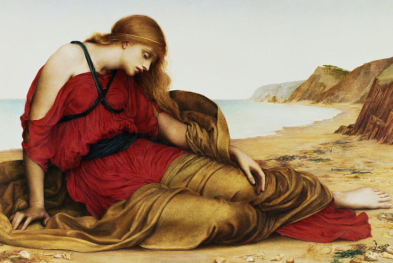 'Ariadne at Naxos', Evelyn De Morgan