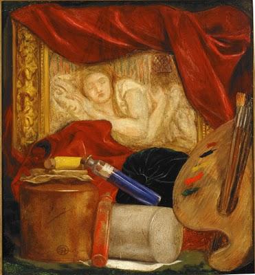 'Bottles', Dante Gabriel Rossetti
