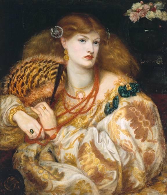 'Monna Vanna', Dante Gabriel Rossetti