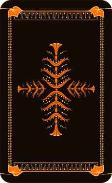 Back design (elements from 1868 ornamental design plates)