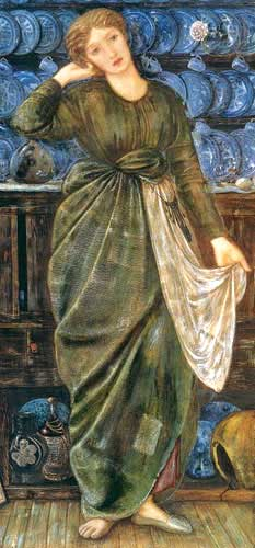 'Cinderella' by Sir Edward Coley Burne-Jones.