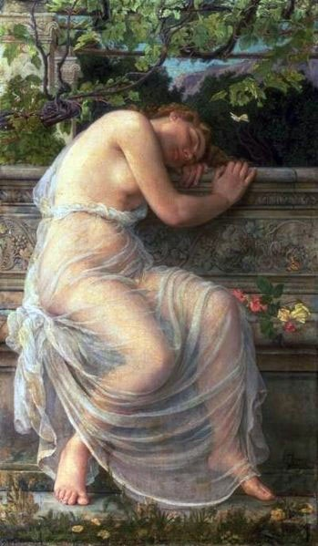 'The Sleeping Girl', E. Corbett