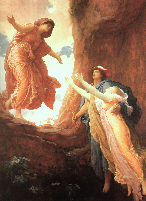 'The Return of Persephone',  by Frederic, Lord Leighton
