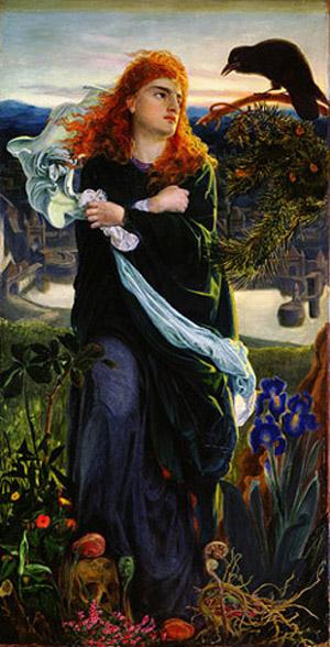 'Valkyrie', Frederick Sandys