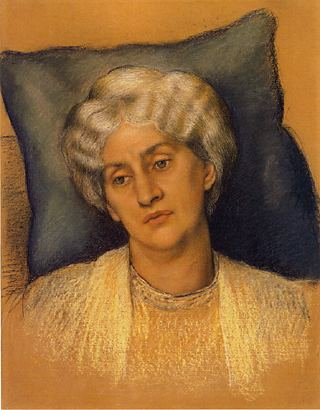 Jane Morris painted by Evelyn De Morgan in 1904