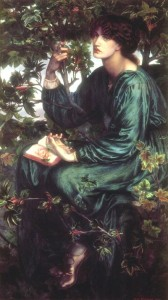 Jane seen in 'The Day-Dream' by Dante Gabriel Rossetti