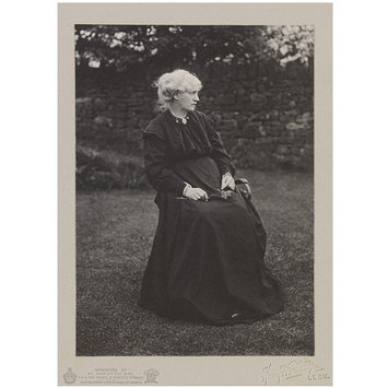 Portrait of Jane Morris, Phillips, Harry F (photographer) 1914.  V&A
