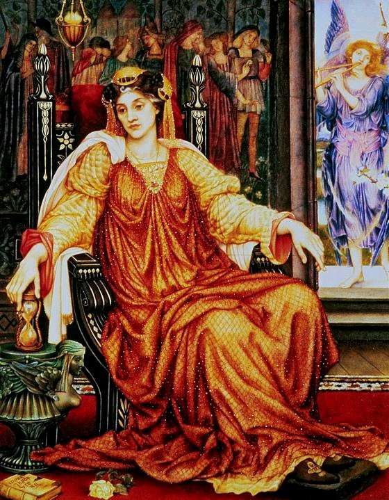 'The Hour Glass', Evelyn De Morgan (1905)