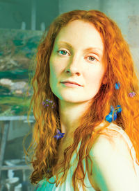 Emma West as Lizzie Siddal in Jeremy Green's play.