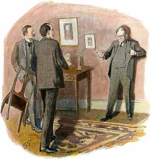 Watson, Holmes and Milverton
