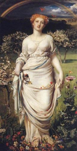 'Gentle Spring', Frederick Sandys