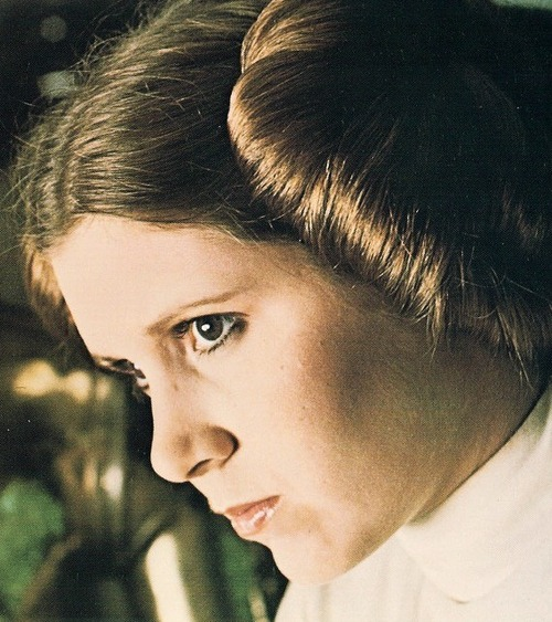 ... hairstyle he created for Star Wars character Princess Leia, he
