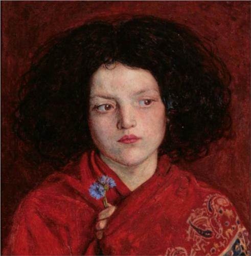 'The Irish Girl', Ford Madox Brown (1860)