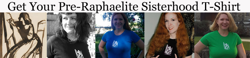 Show your support with this Pre-Raphaelite Sisterhood T Shirt!