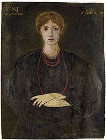 Georgiana Burne-Jones, painted by Sir Edward Burne-Jones
