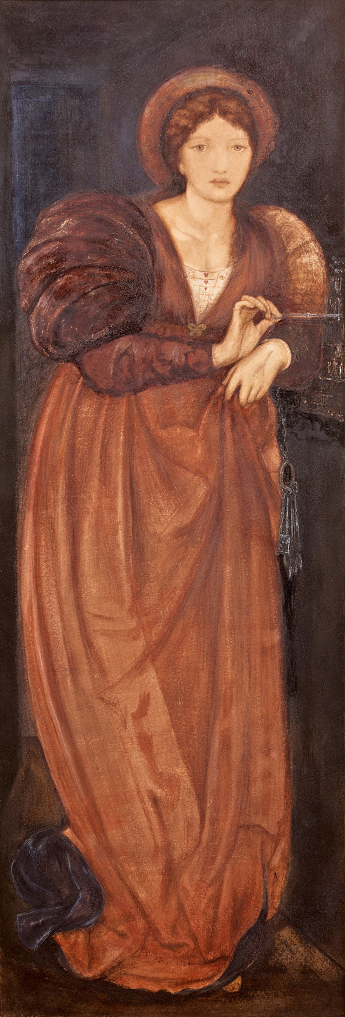 'Fatima', Sir Edward Coley Burne-Jones