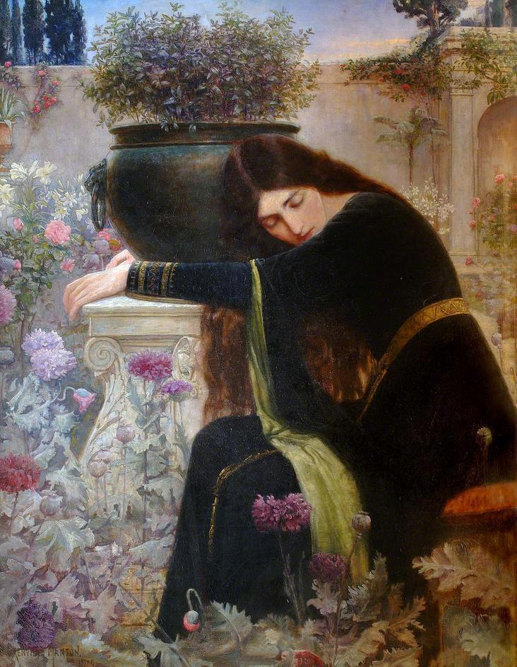 Isabella and the pot of Basil, George Henry Grenville Manton