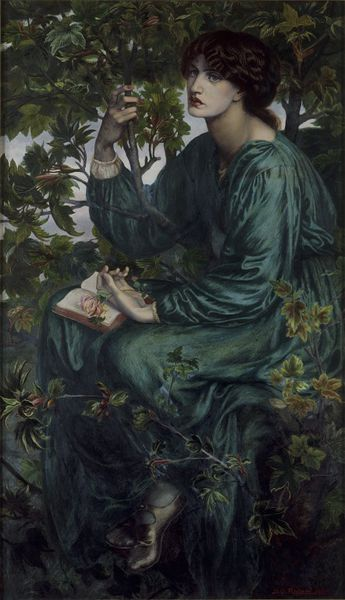 'The Day Dream', Dante Gabriel Rossetti (1880)