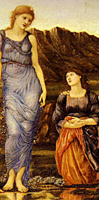 'The Mirror of venus' detail