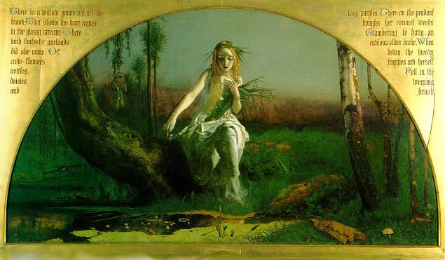 'Ophelia', Arthur Hughes