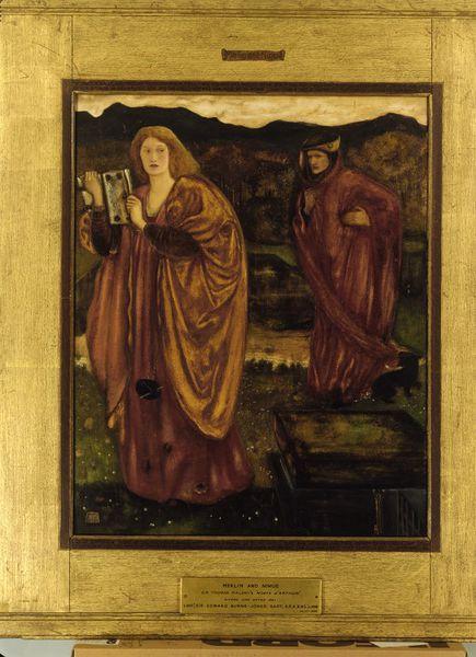 'Merlin and Nimue', Sir Edward Burne-Jones