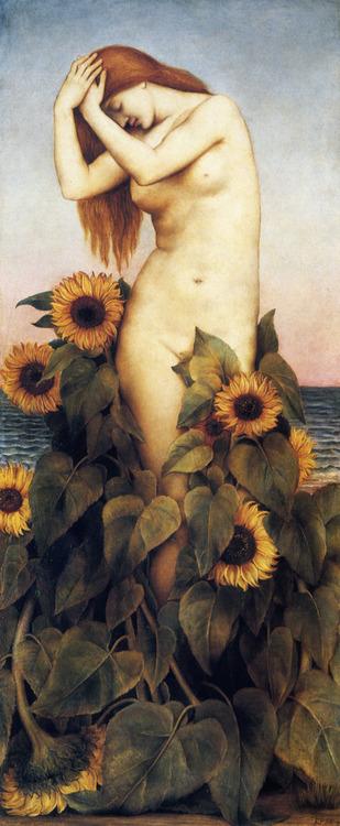 'Clytie', Evelyn De Morgan