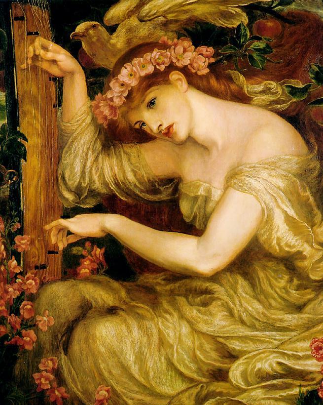 'A Sea-Spell', Dante Gabriel Rossetti