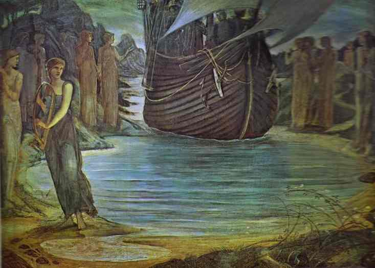 the-sirens-burne-jones