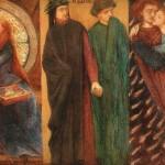 'Paolo and Francesca de Rimini', Dante Gabriel Rossetti