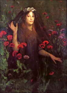 'Death the Bride', Thomas Cooper Gotch