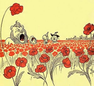 Wizard of Oz-poppies