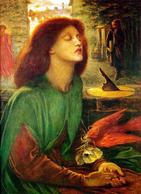Beata Beatrix, Dante Gabriel Rossetti