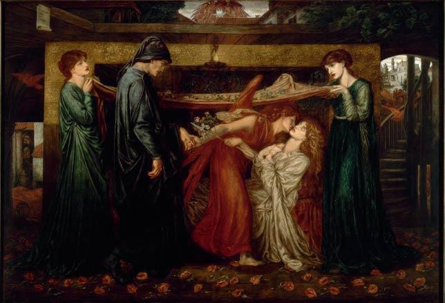 'Dante's Dream', Dante Gabriel Rossetti