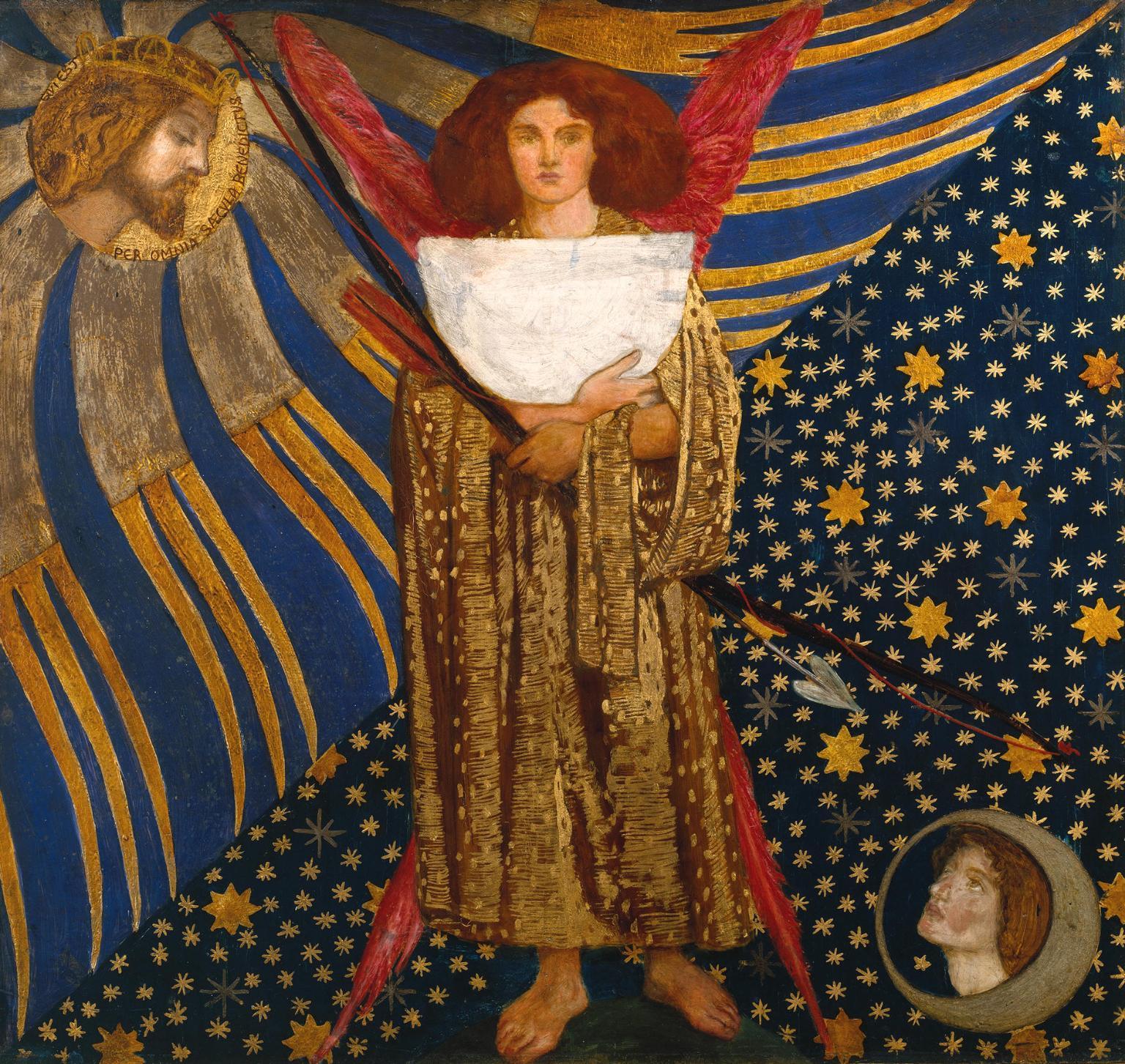 'Dantis Amor', Dante Gabriel Rossetti