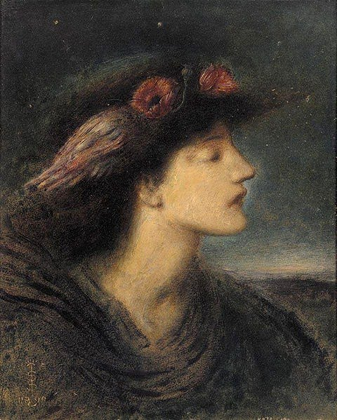 Night, Simeon Solomon