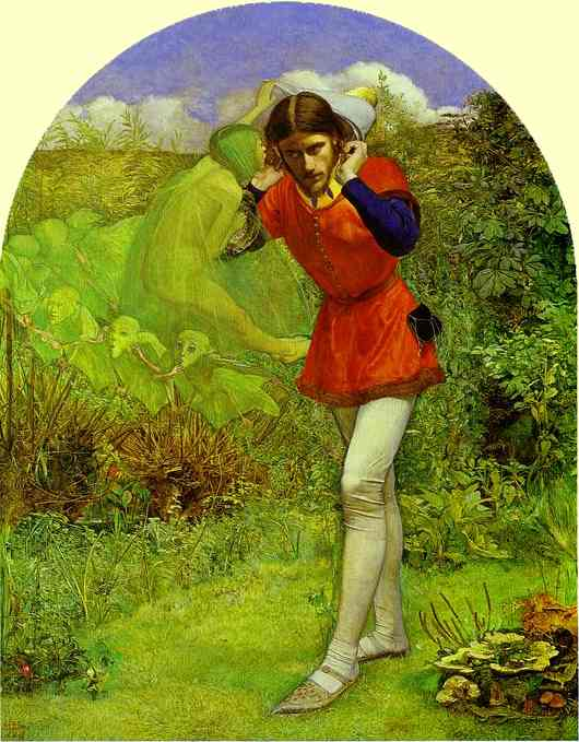 'Ferdinand Lured by Ariel', Sir John Everett Millais