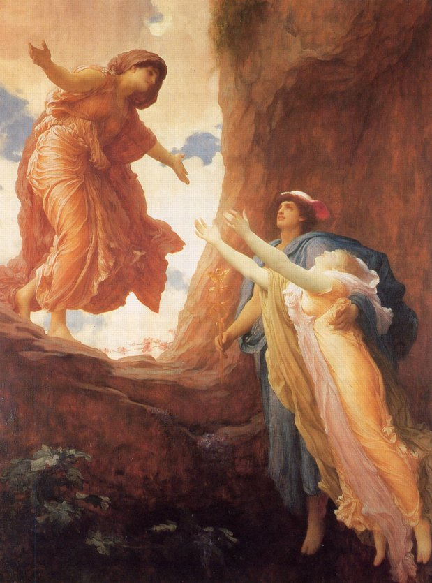 Frederic, Lord Leighton 'The Return of Persephone'