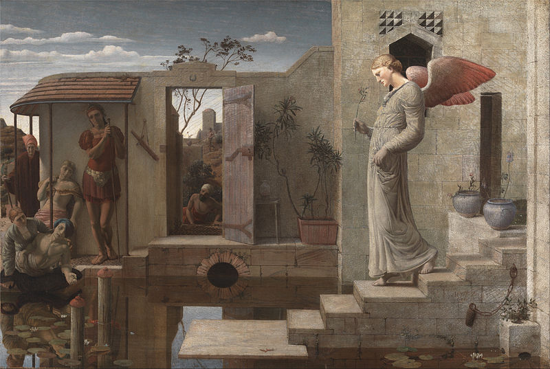 'The Pool of Bethesda', Robert Bateman