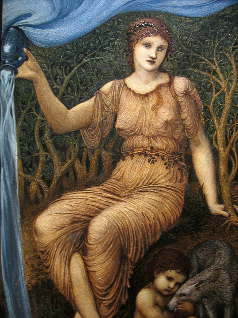 'Earth Mother', Sir Edward Burne-Jones