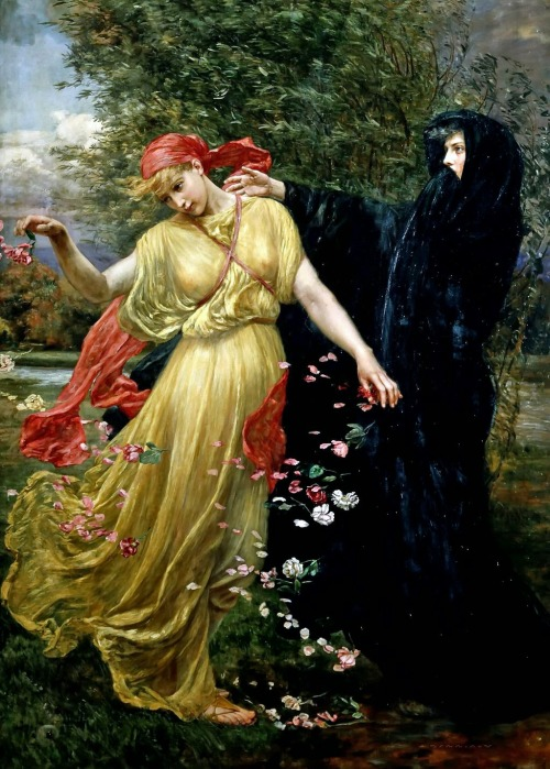 'At the First Touch of Winter, Summer Fades Away', Valentine Cameron Prinsep