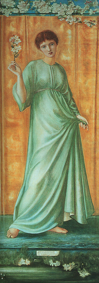 'Spring', Burne-Jones