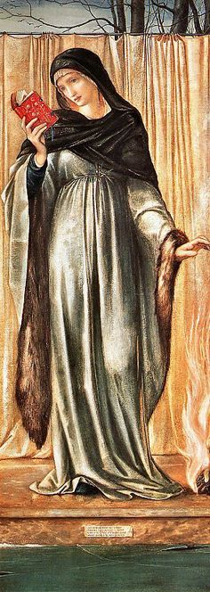 'Winter', Burne-Jones