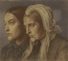 Christina Georgina Rossetti; Frances Mary Lavinia Rossetti (née Polidori)