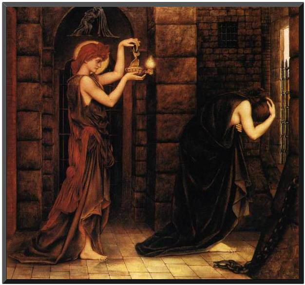 'Hope in the Prison of Despair', Evelyn De Morgan