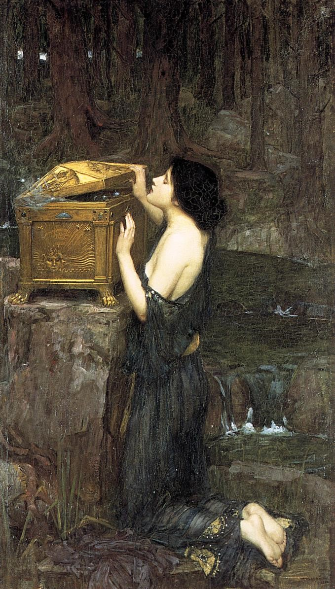 'Pandora', John William Waterhouse
