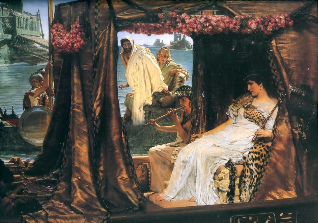 'Antony and Cleopatra', Sir Lawrence Alma-Tadema (1883)