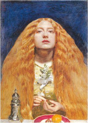 The Bridesmaid by Sir John Everett Millais