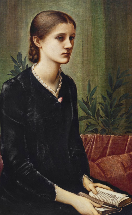 'Portrait of Carolyn Fitzgerald' by Sir Edward Coley Burne-Jones