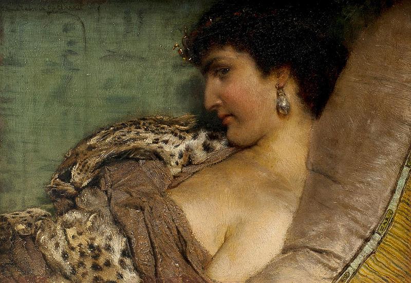 'Cleopatra', Sir Lawrence Alma-Tadema (1877)