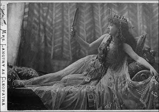 Lily Langtry as Cleopatra